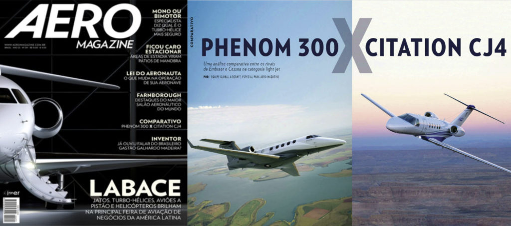 Article comparative Phenom 300 vs CJ4