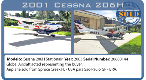 Airplane 2001 Cessna 206H sold by Global Aircraft
