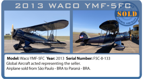 Airplane 2013 Waco sold by Global Aircraft