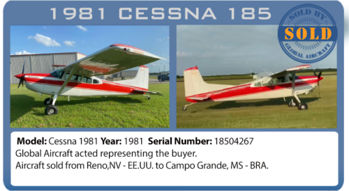 Airplane Cessna 185 sold by Global Aircraft