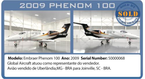 Jato 2009 Phenom 100 vendido por Global Aircraft