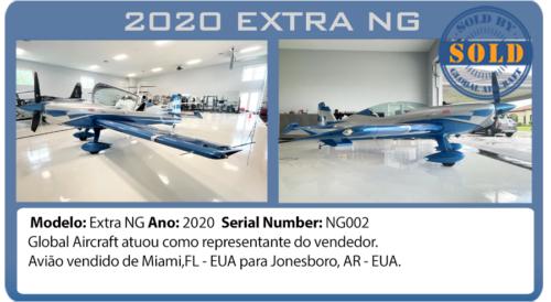 Avião Experimental 2020 EXTRA NG Vendido