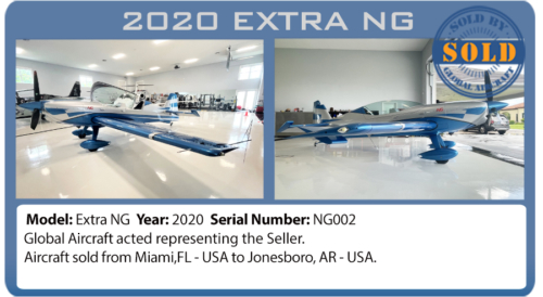 Airplane 2020 Extra NG Sold by Global Aircraft