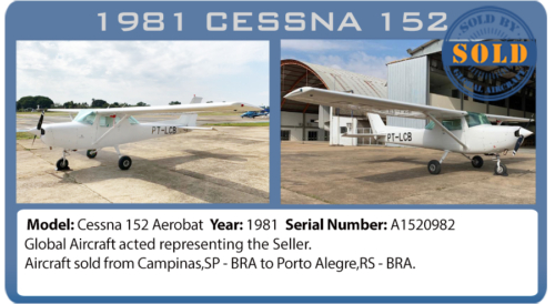 Aircraft 1981 Cessna AEROBAT 152 sold by Global Aircraft