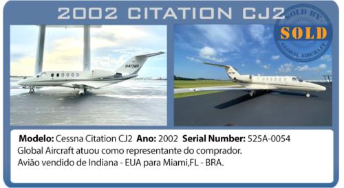 JAto 2002 Citation CJ2 vendido por Global Aircraft