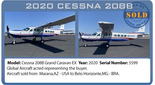 Aircraft 2020 Cessna 208B Caravan sold by Global Aircraft