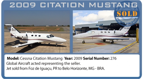Jet 2009 Cessna Citation Mustang sold