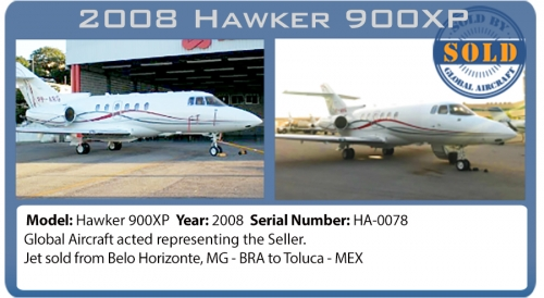 Jet Hawker 900XP sold