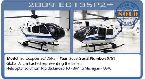 Helicopter Eurocopter EC135P2+ Sold