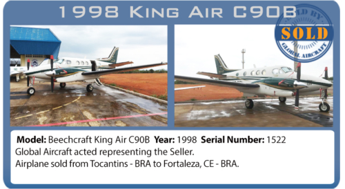 Airplane Turboprop 1998 King Air C90B Sold by Global Aircraft